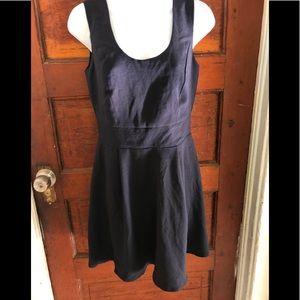 NWOT Double Zero Navy Blue Dress